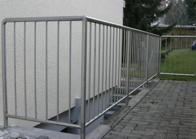 Edelstahl Geländer Aesch