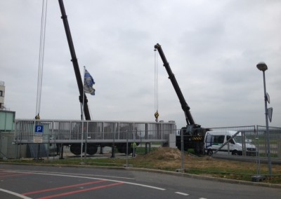 Service Flughafen Payern Swiss Army Teleskope Tor 48 Meter