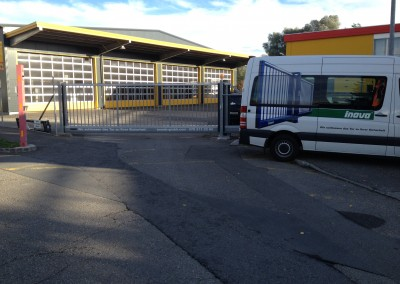 Schnelllauftor SB Trans Sempach Station