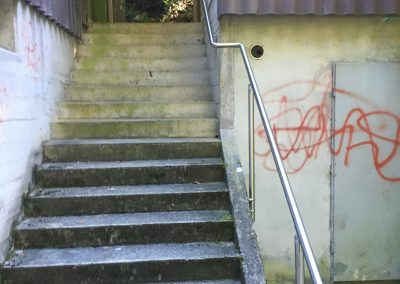 Handlauf Schiesstand Arlesheim