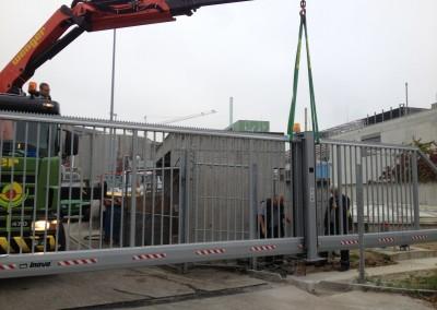 Schnelllauftor Stahltor Pro Rehno Basel