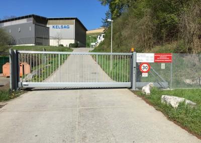 Schnelllauftor Kelsag Liesberg