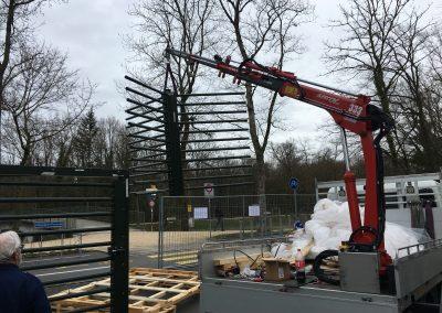 Montage Tierpark Lange Erlen