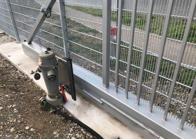 Absicherung Hydrant ARA Therwil
