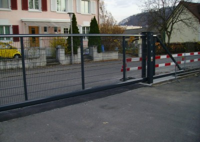 Stahltor Werkhof Muttenz