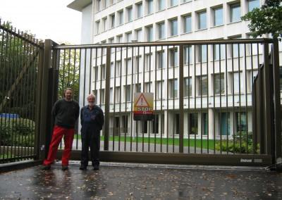 Stahltor US Botschaft Bern